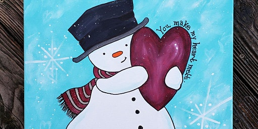 You Melt My Heart Snowman - $40