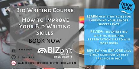 Bid Writing Course - How to Improve your Bid Writing Skills tickets