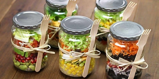 Tom & KC's Salad in a Jar Party + Shred10 Kickoff