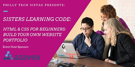 Sisters Learning Code: HTML & CSS for Beginners tickets
