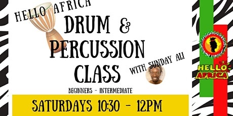 African Drum & Percussion Class tickets