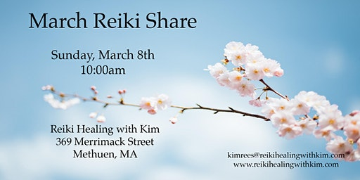 March Reiki Share