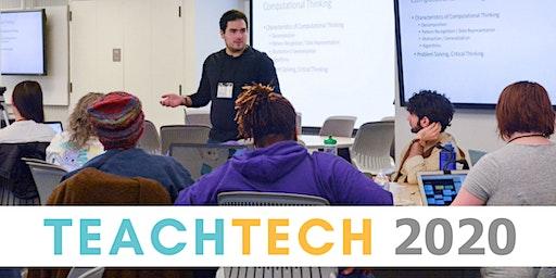 Teach Tech 2020: Learn to Teach Computer Science!