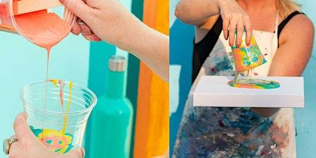 Learn How to Paint Pour: Paint Pour Social tickets