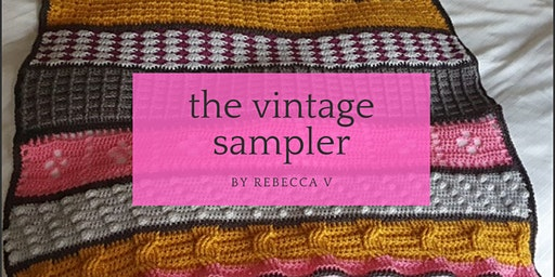 Vintage Sampler Crochet Blanket