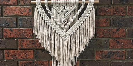 Macrame Beginners Wall Hanging Workshop tickets