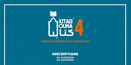 Concours Kitabouna 4 billets