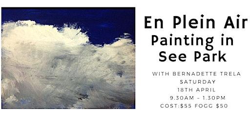 'En Plein Air' Painting in See Park