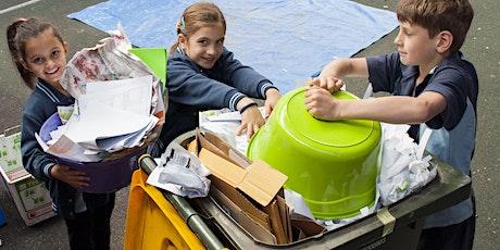 Reducing school yard waste. tickets