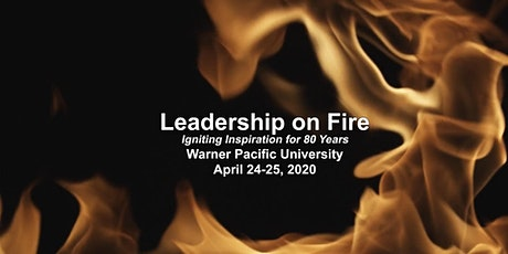 Leadership on Fire tickets