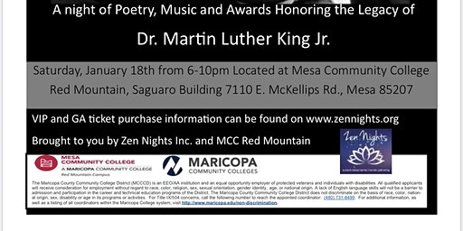 MLK Gala, Honoring the Legacy of Dr. Martin Luther King Jr.