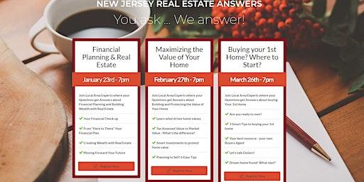 NJREA Financial Planning & Real Estate 1-23 at 7 pm