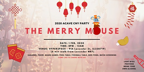 The Merry Mouse - CNY Party tickets