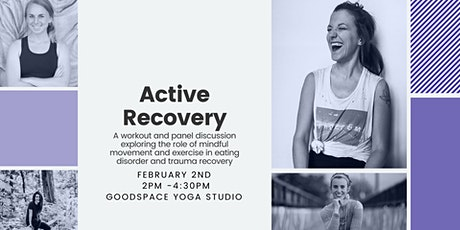 Active Recovery - a workout and panel discussion  tickets