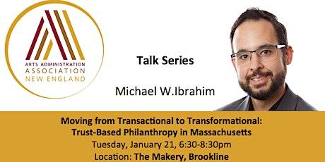 Talk Series with Michael Ibrahim tickets