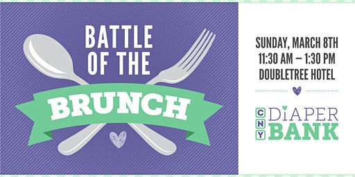 Battle of the Brunch--Benefit for  CNY Diaper Bank