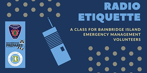 Emergency Management Volunteers: Radio Etiquette