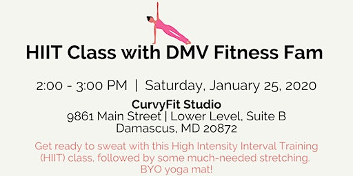 January 2020 HIIT at CurvyFit