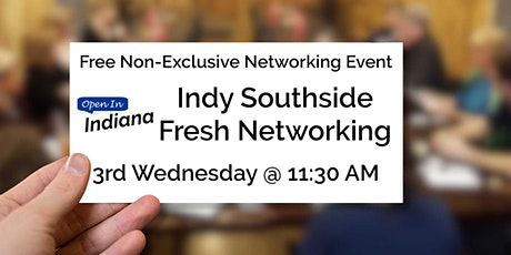 Open In Indiana Fresh Networking tickets