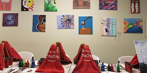 Paint and Sip Thursday Edition at Carolina Creative Expressions