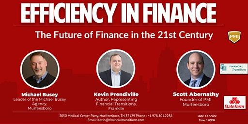 Efficiency in Finance: The Future of Finance in the 21st Century