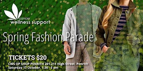Spring Fashion Parade at Penrith Valley Op Shop tickets