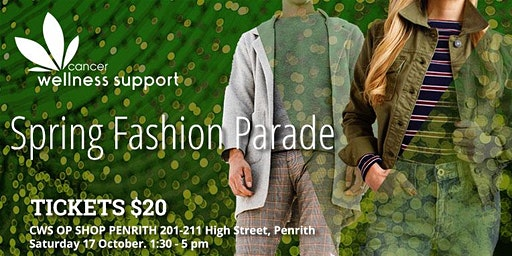 Spring Fashion Parade at Penrith Valley Op Shop
