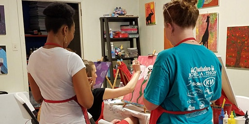 Paint and Sip Friday Events at Carolina Creative Expressions