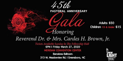 45th Pastoral Anniversary