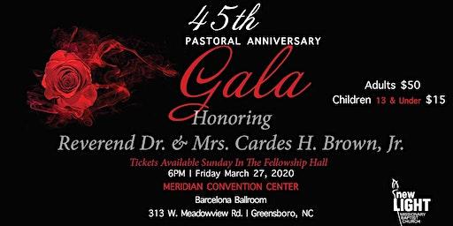 45th Pastoral Anniversary