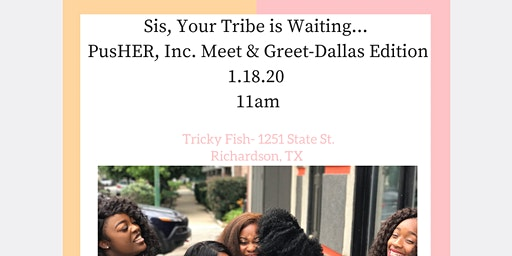 PusHER, Inc. Meet & Greet Dallas Edition