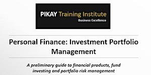 Personal Finance - Investment Portfolio Management