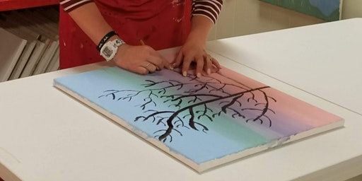 Paint and Sip Saturday Events at Carolina Creative Expressions