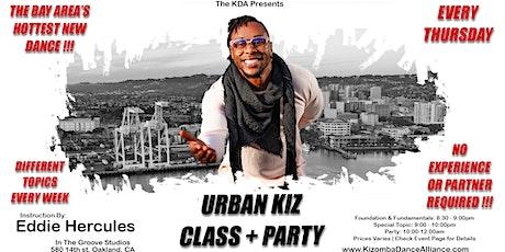 Urban Kiz Class + Party  tickets