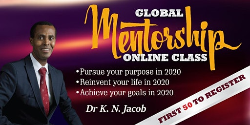 Global Mentorship Class - Step into Your Life Purpose