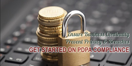 Get Started on PDPA Compliance tickets