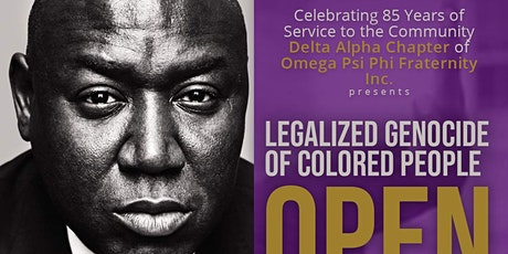 Delta Alpha Chapter presents Open Season Book Talk With Author Ben Crump tickets