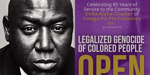Delta Alpha Chapter presents Open Season Book Talk With Author Ben Crump