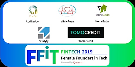 Female Founders in FinTech 2019: Final Pitch Event tickets