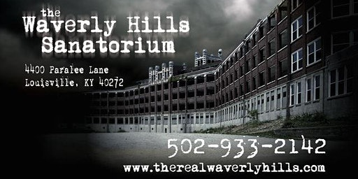 Jr. Ghost Hunters Under 18 Night 6 Hour Paranormal Investigation at Waverly Hills Sanatorium
