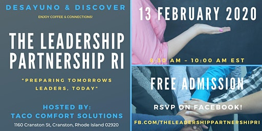 Desayuno & Discover - Lunch & Learn - The Leadership Partnership of RI