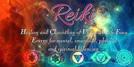 February - Reiki Level I Course- Balance your own chakras!
