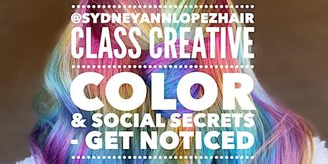 Creative Color & Social Secrets tickets