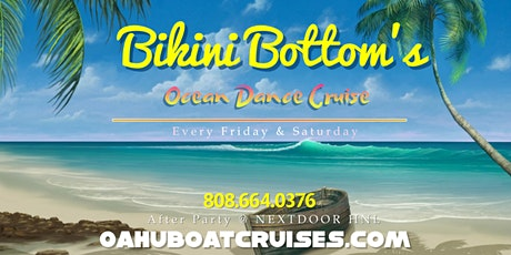 April 3rd: Bikini Bottom's {Fireworks Dance Cruise} tickets