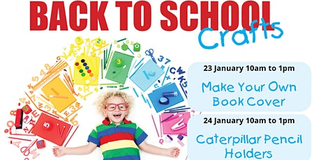Back to School Crafts tickets