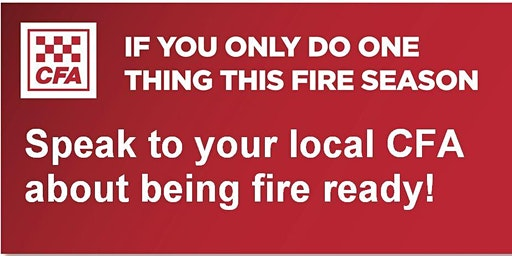 Lilydale CFA - Street Corner Fire Information Session