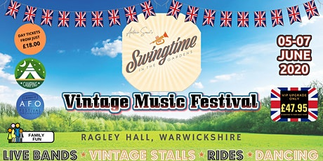 Swingtime in the Gardens 2020 tickets