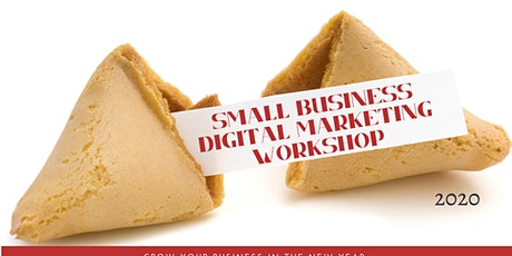 THE SMALL BUSINESS DIGITAL MARKETING PLANNING WORKSHOP tickets
