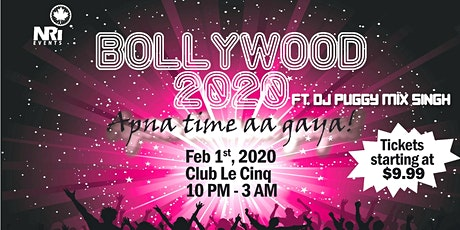 Bollywood 2020 - Apna time aa gaya! tickets