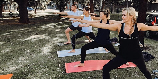 Free Yoga In The Park - Yarraville Gardens